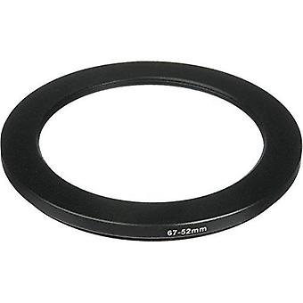 Phot-r® 67-52mm metal step-down ring adapter for camera filters and lenses 67 - 52mm