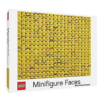 LEGO (R) Minifigure Faces 1000-Piece Puzzle