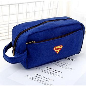 Superhero Canvas Creative - Side Open Zipper Pencil Bag