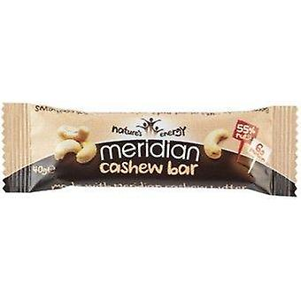 Meridian Cashew Nut Bar 40g x18