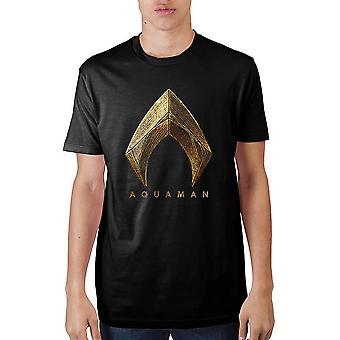 Justice league aquaman logo t-shirt