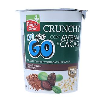 Crunchy On Tè Go - With Oatmeal and Cocoa 80 g