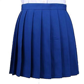 Pleated Macarons High Waist Women's Skirts Clothing