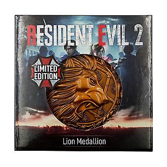 Lion Resident Evil 2 Limited Edition Metal Replica R.P.D. Medallion