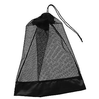 Heavy Duty Compact Mesh Drawstring Storage Bag