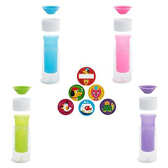 Munchkin my miracle 360 insulated personalised cup all 4 supplied