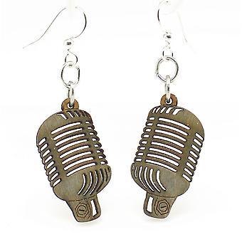 Vintage Microphone Earrings