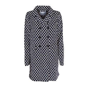 Violanti Via123f5700578 Women's Blue Polyester Coat