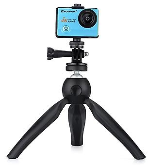 K3 Mini Tripod for Smartphone&Phone Holder Stand Mount for iPhone X 7 Canon Nikon Gopro Portable Sel