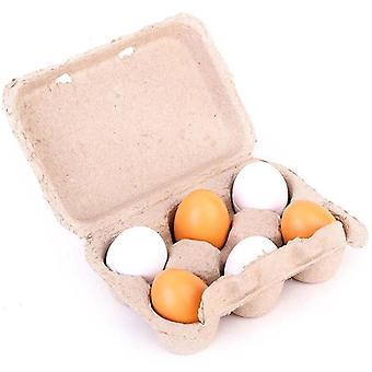 Tre nydelige egg late spille leketøy
