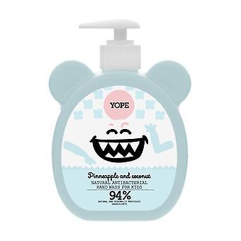 Pineapple & Coconut Antibacterial Hand Gel 400 ml of gel
