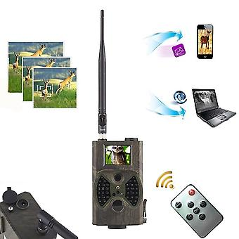 Hunting Trail Camera Cellular Mobile Photo Trap Night Vision Wireless Tracking