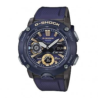 G-Shock Ga-2000-2aer Carbon Core Guard Dark Purple Resin Analogue & Digital Men's Watch