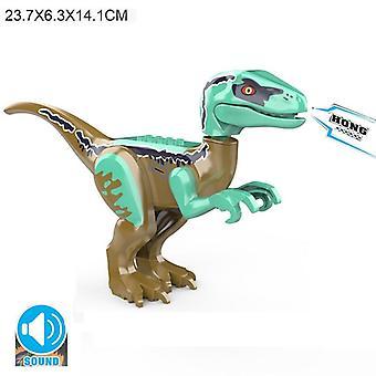 Jurassic World Brutal Raptor World 2 Dinosaur Figures Bricks