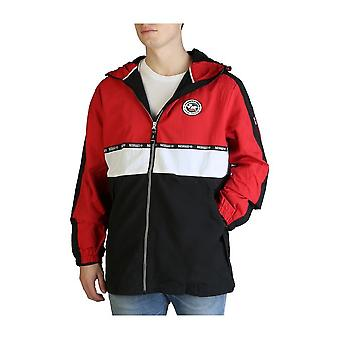 Geographical Norway - Clothing - Jackets - Aplus-man-black-red - Men - black,red - M