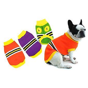 Freedog Oranssi Raidat Jersey Koirille (Koirat , Koiran vaatteet , Puserot ja hupparit)