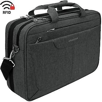 HanFei Laptop Tasche Tasche Tasche Umhngetasche 15,6 Zoll ˆ39,6 cm‰ Leinwand Tablet Aktentasche