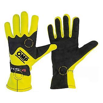 Men's Driving Gloves OMP MY2018 Noir/S