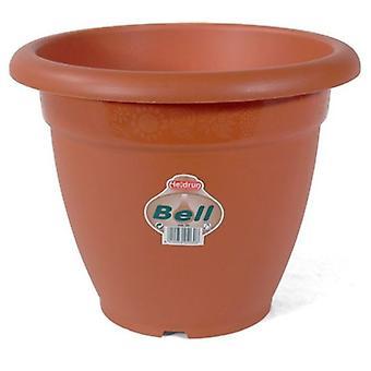 flower pot 30 x 24 cm brown