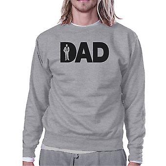 Dad Business Grey Unisex Unikalna bluza projektowa