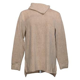 Cuddl Duds Women's Top Fleecewear Pullover Tunic Pink A381712