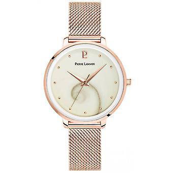 Pierre Lannier Naisten kellot 029L998 - Vaaleanpunainen Dor Steel Rannekoru