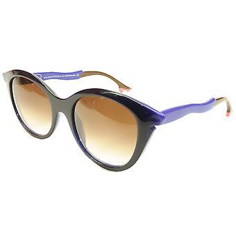 Face A Face Bocca Sixties 3 2146 Slnečné okuliare Ink Majorelle Blue Italy Hand Made