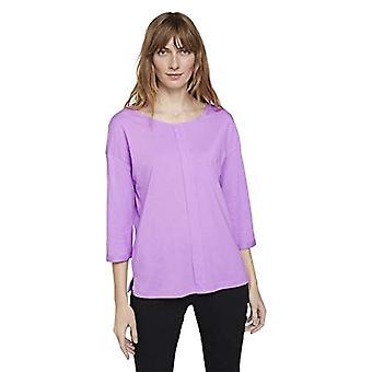 Tom Tailor 1023615 Basic T-paita, 26321-Viola Melange, XXL Naiset
