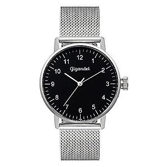 Gigandet Minimalism Analog Women's Watch Quartz Silver Black G27-006