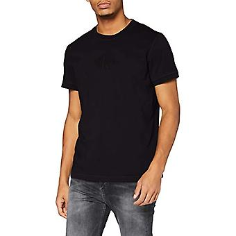 Calvin Klein Acid Wash Tee Shirt, CK Black, XXL Men's
