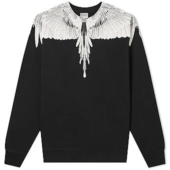 Marcelo Burlon Mens Wings Regular Sweater