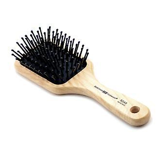 Detangling purse size paddle hair brush 9248