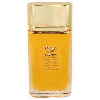 Måste de Cartier guld av Cartier Eau de Parfum Spray (testare) 3,3 oz (damer) V728-533829