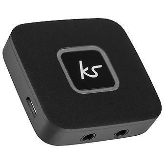 Kitsound FRESHHPSPBK Čerstvé slúchadlá Splitter Čierna