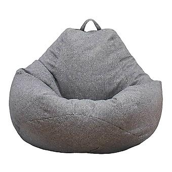 Grande chaise de sac de haricots Sofa Couch Cover Indoor Lounger No Filling