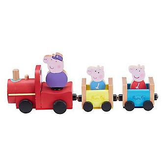 Train Peppa Pig Bandai Wood (30 x 11,5 x 10 cm)