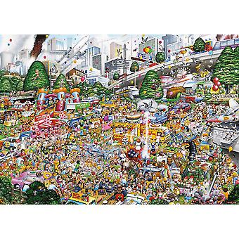 Gibsons je amour Car Boot ventes Jigsaw Puzzle (1000 pièces)