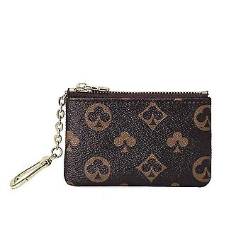Mini Classical Wallet Purse Brand Designer Zipper Coin Leather Key Bag