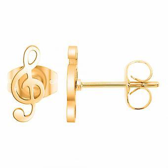 Boucles d'oreilles Ang�le M - B2322-DORE Acier Dor�