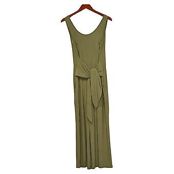 Brittany Humble Women's Jumpsuits Reg Tie-Front Green 754099