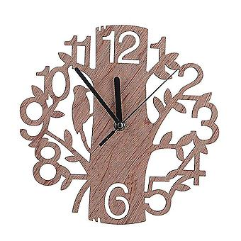 Wall clocks wood wall clock 22cm modern minimalist style clocks for home office room