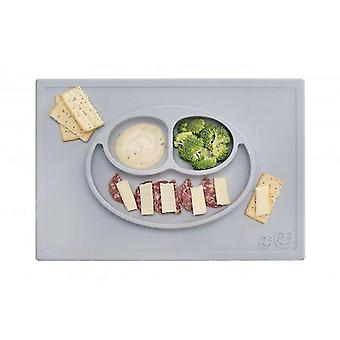 Placemats happy mat - pewter grey
