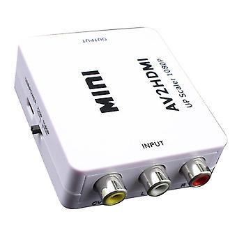 Av naar hdmi-compatibele converter av2 composiet av cvbs 3rca1080p converter adapter video upscaler