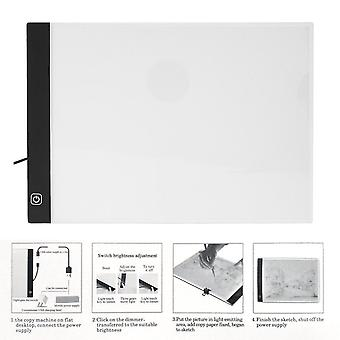 K01 Dimmable Led Copy Board A4 Paper Size Luminous Animation Painting Panel