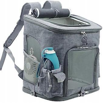Sac à dos pliable pour chien, porte-animaux, sac à dos de transport pour chien et chat, sac à dos pliable, adapté à la randonnée quotidienne (jaune)