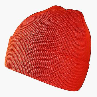 Fashion Beanies Hat, Winter Warm Ski Soft Elastic Caporange