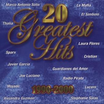 20 Greatest Hits 1990-00 - 20 Greatest Hits 1990-00 [CD] USA import