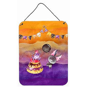 Halloween bonbons Party mur ou porte suspendue imprime