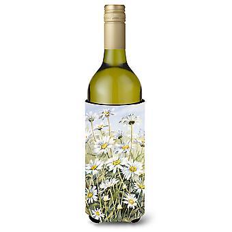 Marguerites par Bettie Cheesman Wine Bottle boissons isolant Hugger
