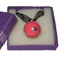 Bola mexicain pendentif rose céleste
